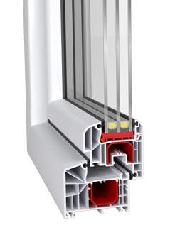 Aluplast ideal 4000 współczynnik przenikania ciepła