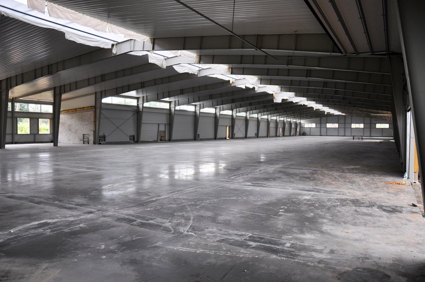 Nowa hala produkcyjna o powierzchni ponad 3 tys. mkw.