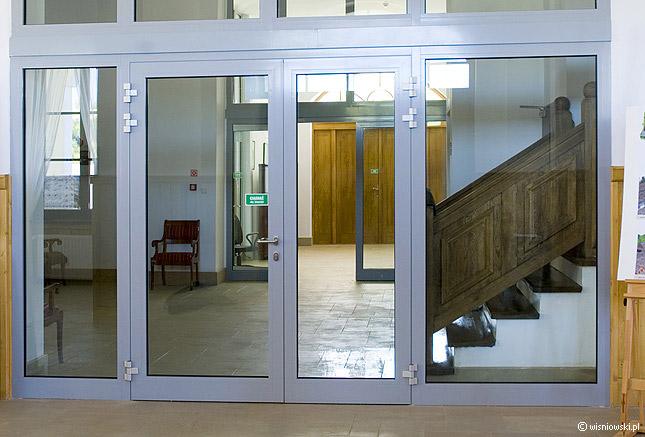 Drzwi aluminiowe ei30