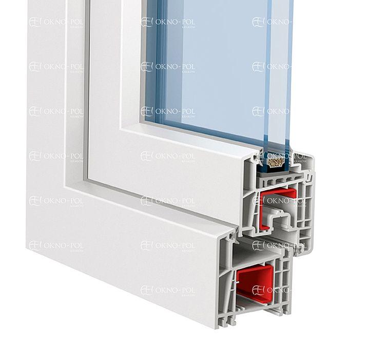 eurofutur 5k classic eco okna standardowe. Black Bedroom Furniture Sets. Home Design Ideas